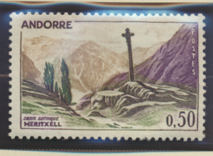 Andorra (French Administration) Stamp Scott #150, Mint Hinged - Free U.S. Shi...