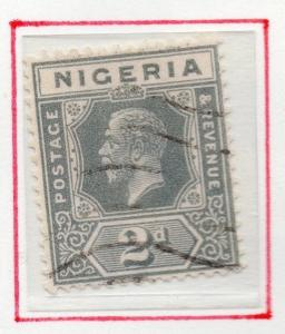 Nigeria 1921-32  Early Issue Fine Used 2d. 024985