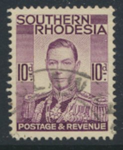 Southern Rhodesia  SG 46   SC# 48   Used / FU  see scan