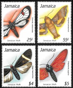 [8120]   Jamaica # 725 - 28 Mint Never Hinged
