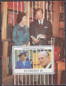 1991 St Vincent 1741/B172 65 years of Queen Elizabeth II 5,50 €