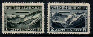 Liechtenstein Scott C7-8 Mint hinged [TE344]