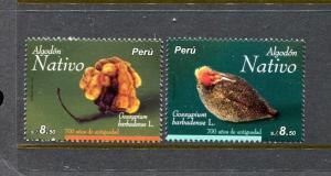 Peru 1796-1797, MNH, Cultivation of Cotton in Peru 2011. x29673