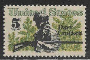 USA Scott 1330  MNH** Davey Crockett 1966 stamp