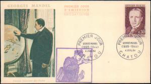 France, Worldwide First Day Cover