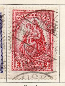 Hungary 1926 Early Issue Fine Used 2P. 098285