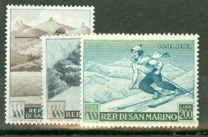 BD: San Marino 327-34, C90 mint CV $59.85; scan shows only a few