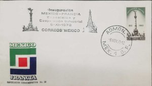 RO) 1972 MEXICO, EXPOSURE AND INDUSTRIAL COOPERATION MEXICO AND FRANCE, NICE CAN