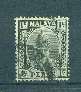 Malaya - Perak sc# 90 used cat value $.25