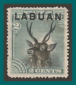 Labuan 1894 Sambar Stag, p15 mint  #50,SG63