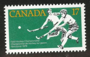 Canada Scott 834  MNH** Womens Field Hockey stamp
