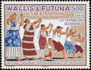 Wallis & Futuna Islands 2018 Sc 796 International Day of Dance Dancers