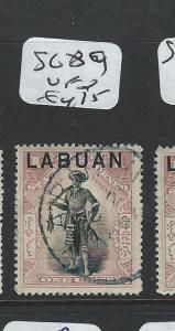 LABUAN  (P2201B)  1C MAN   SG 89   VFU