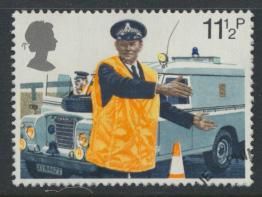 Great Britain  SG 1101 SC# 876 Used / FU with First Day Cancel - Police
