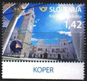 Slovenia. 2018. 1296. Tourism, cityscape. MNH.