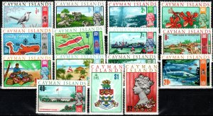 Cayman Islands #262-76   MNH V $12.85 (X7467)