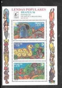 Brazil #2601 MNH Souvenir Sheet