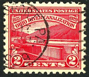 U.S. #681 Used F-VF