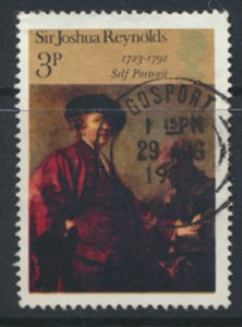 Great Britain  SG 931  SC# 697  Paintings Used see detail and scan