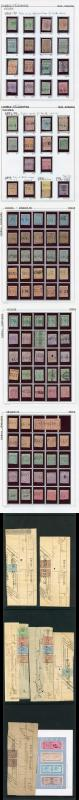 India Collection of 127 Telegraph Stamps