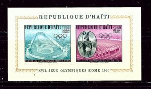 Haiti C165a MNH 1960 Olympics Imperf S/S  #2