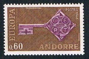 French Andorra 183 MLH Key (BP873)