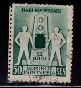 Indonesia Scott 443 Used stamp