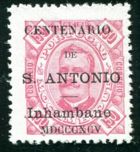 1895 Inhambane MNG as issued 150 reis # 14