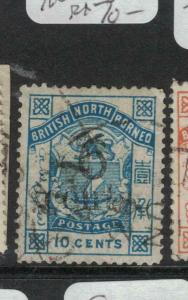 North Borneo SG 56 Faintly Printed Overprint VFU (8dvp)
