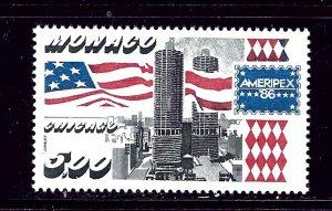 Monaco 1545 MNH 1986 Ameripex