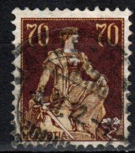 Switzerland #141 F-VF Used CV $27.50 (X2119)