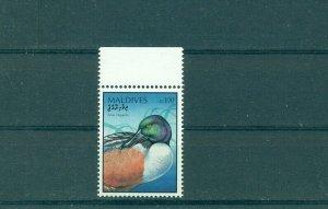Maldive Islands - Sc# 2323. 1999 Duck, Birds. MNH Cplt. $14.00.