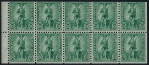 WS8b - 25c F-VF Booklet Pane of 8 Mint NH Cat $55