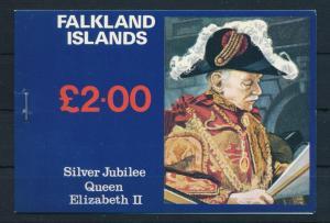 [71883] Falkland Islands 1977 Booklet Silver Jubilee Horses Bird  MNH