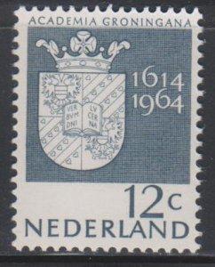 Netherlands,  12c Arms (SC# 423) MNH
