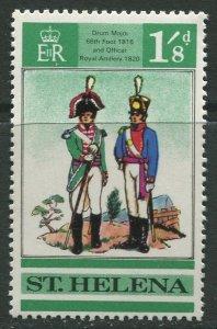 STAMP STATION PERTH St Helena #230 British Uniforms 1969 MNH