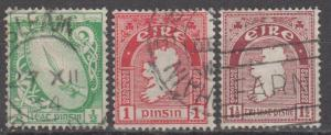 Ireland #65-7 F-VF Used CV $6.00 (B12225)