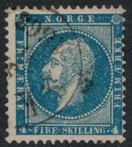 Norway #4  CV 20.00  Light cancellation