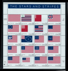US Scott 3503 Full Sheet! Stars & Stripes! MNH!