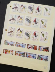 EDW1949SELL : BHUTAN Beautiful collection of all VF MNH sets & S/S. Sc Cat $348.