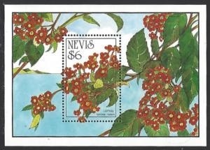 Nevis #792 MNH Souvenir Sheet cv $5