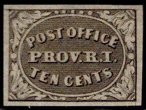 US Stamp #10x2 Ten Cent 1898 Reprint B MINT NGAI Hinged SCV $160