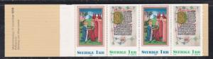 Sweden # 1192a, Booklet - Christmas, 1/2 Cat.