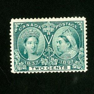 Canada Stamps # 52 VF OG LH Catalog Value $37.50