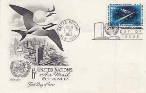 United Nations, First Day Cover, Astronomy
