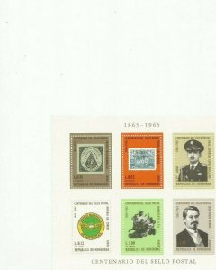 HONDURAS SCOTT C403A MNH SCV $25