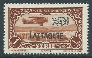 Latakia, Sc #C3, 1p MH