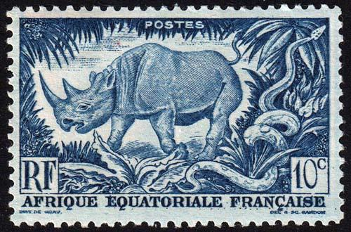 French Equatorial Africa - Scott 166 - Mint-Hinged - Crease