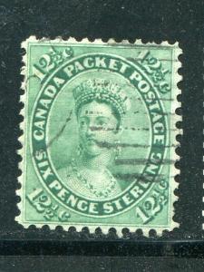 Canada #18a   Used F-VF