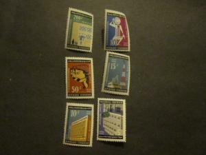 Ivory Coast #429-34 Mint Never Hinged - WDWPhilatelic